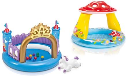 Mushroom or Magic Castle Inflatable Baby Play Pool