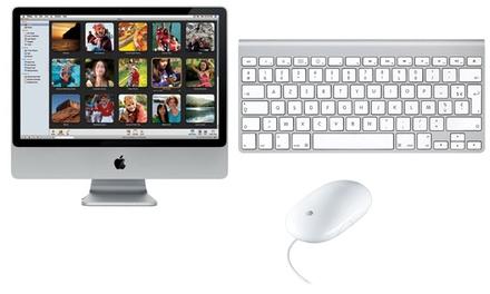 Apple iMac 24 MB324LL/A reconditionné avec clavier et souris, livraison offerte