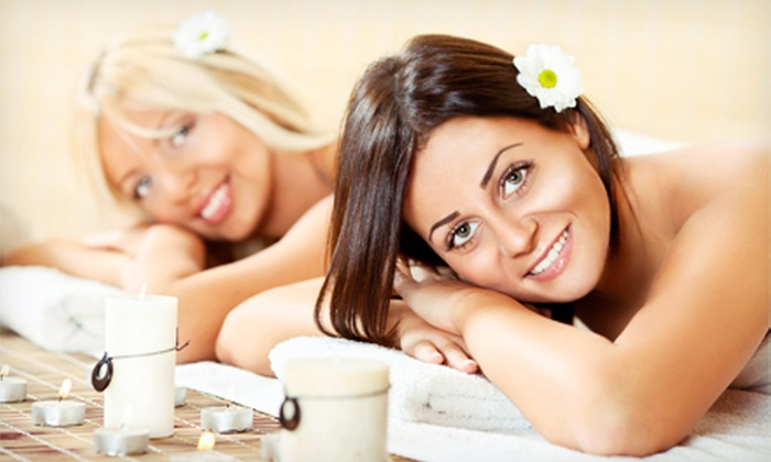 A Day of Delight - Multiple Locations: $149.99 for a Couples Spa Package with Massage, Body Scrub, and Gourmet Lunch at A Day Of Delight ($309.98 Value)