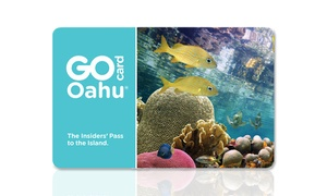 Smart Destinations: Three-Day All-Inclusive Go Oahu Card Including Free Admission to 34+ Popular Oahu Attractions