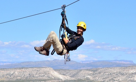 Zip Line Tours for One or Four at Predator Zip Line (Up to 42% Off).