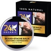 24K Organic Soothing and Refreshing Beard and Stache Balm