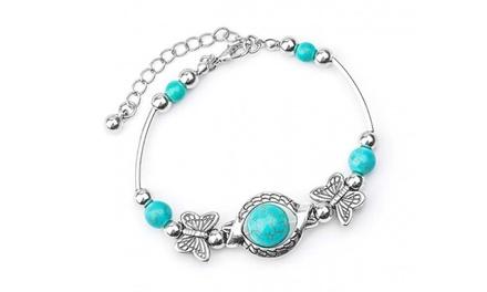 1 ou 2 bracelets Kayla turquoises