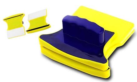 Hasta 3 esponjas magnéticas de doble cara para limpiar cristales