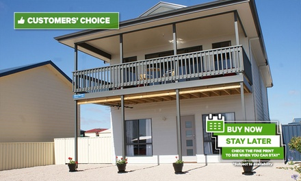 Stansbury: 3- or 4-N Seaside Break for Four with Late Checkout and Light Brekky at Oysta la Vista, South Australia