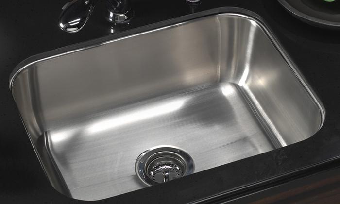 HouzerMedallion Series Undermount Stainless Steel Sinks