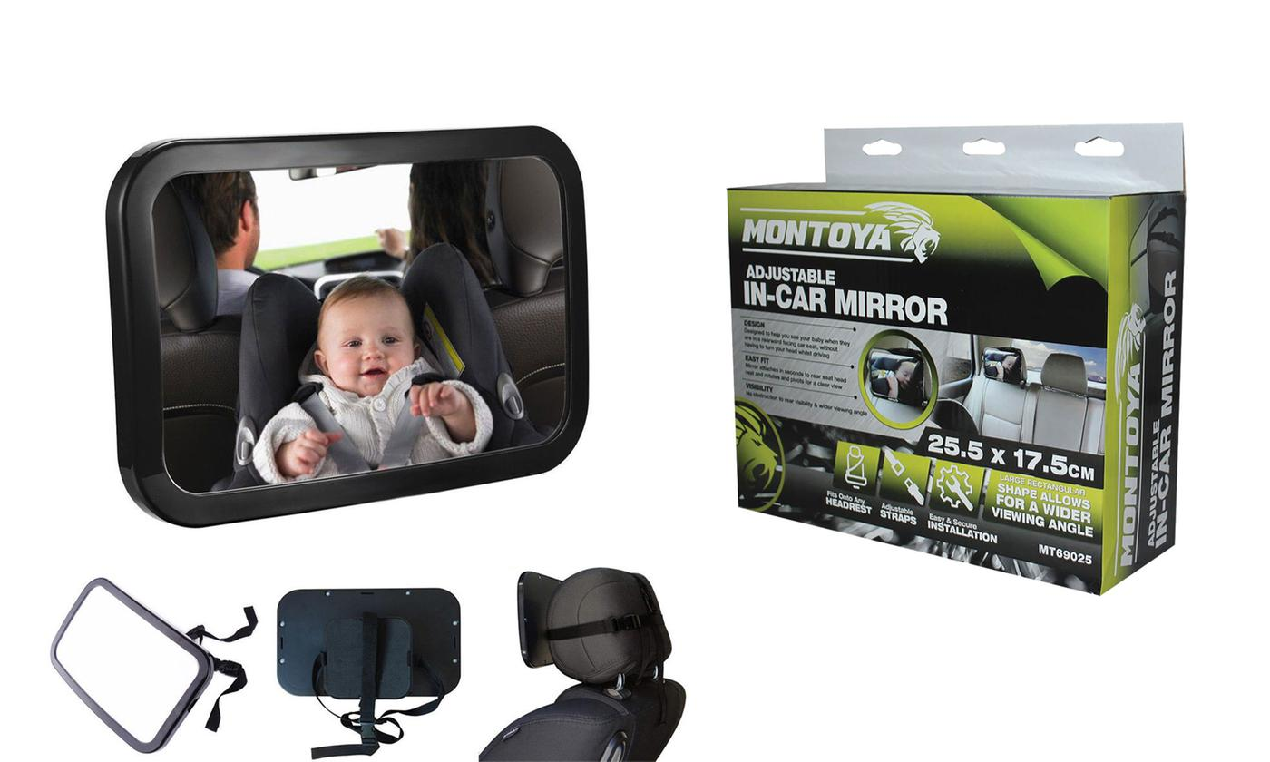 One or Two Vivo Montoya In-Car Baby Safety Mirrors