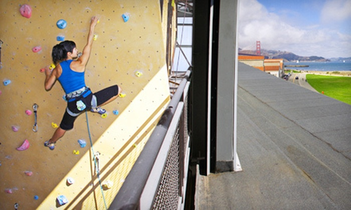 Planet Granite - Belmont: One-Week or One-Month Indoor-Rock-Climbing Package with Gear Rentals for One or Two at Planet Granite (Up to 66% Off)