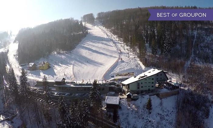 Stacja Narciarska Soszów - Stacja narciarska Soszów: 8-godzinny (64,99 zł) lub 3-dniowy (180 zł) karnet na wyciągi narciarskie Soszów w Wiśle – Perle Beskidów (do -35%)