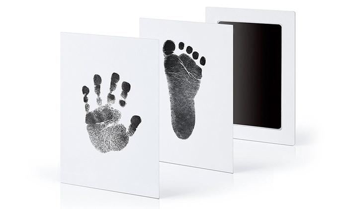 f3642cb6e2e2a Jusqu à 60% Kit empreinte main ou pied bébé