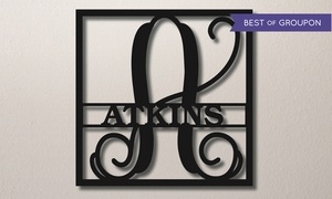 Up to 54% Off Rustic Metal Family-Name Signs at Metal Unlimited, plus 9.0% Cash Back from Ebates.