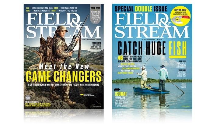 1 or 2-Year 12 or 24-Issue Subscription to Field & Stream
