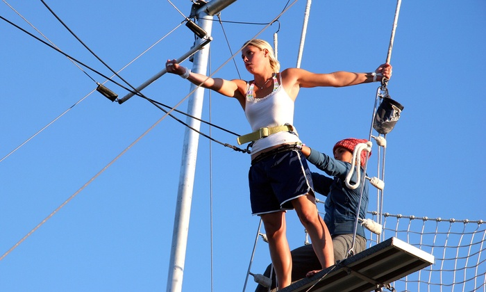 Trapeze High - Escondido: Two or Six 90-Minute Trapeze Lessons at Trapeze High (Up to 51% Off)