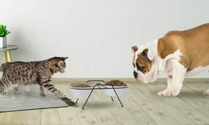 Petmaker Stainless Steel Elevated Pet Bowls with Stand