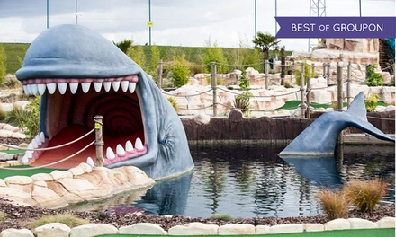 Adventure Golf for Adults and Children at Moby Golf (Up to 33% Off)