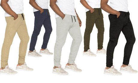 True Rock Men's Cotton Twill Joggers