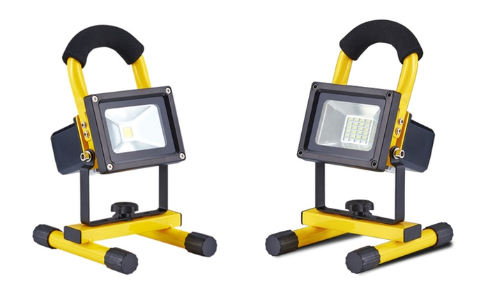 CJ Tech Rechargeable LED Work Lights (10, 12 & 20-Watt Styles)
