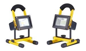 CJ Tech Rechargeable LED Work Lights (10, 12 & 20-Watt Styles)