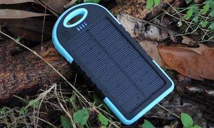 1, 2 ou 3 batteries solaires portables étanches, capacité de 5000 mAh