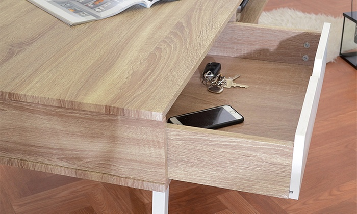 Salontafel Scandinavisch Design : Salontafel met scandinavisch design groupon