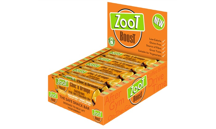 20 Zoot Boost Bars Groupon Goods
