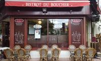 """Menu """"Gourmand"""" avec entrée, plat et dessert au choix à la carte pour 2 ou 4 dès 34,90€ au restaurant Bistrot Du Boucher"""
