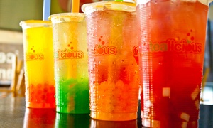 $6 for $10 Worth of Bubble Teas and Drinks at Fruitealicious