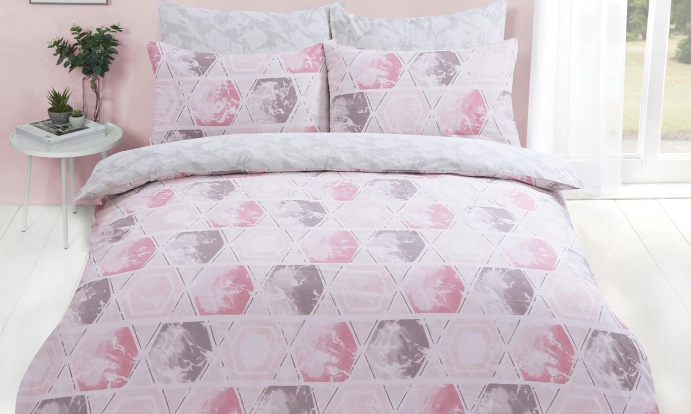 Reversible Easy Care Duvet Set for £10.99