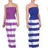 Women's Bandeau Maxi Dress