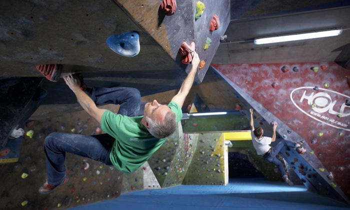 The Climbing Academy - Bristol: Two Adult Indoor Climbs, Shoe Hire and Club Membership for Up to Four Adults at The Climbing Academy (Up to 71% Off)