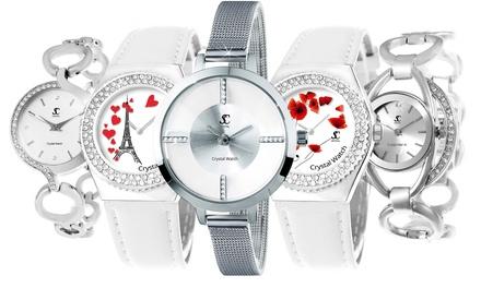 Orologi Sc Crystal con cristalli Swarovski® e disponibile in vari modelli