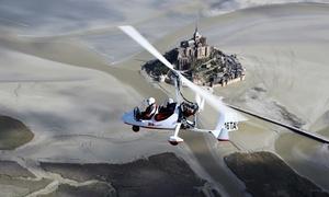 Fougères ULM: Baptême de l'air en ULM autogire au dessus de Fougères et du Mont St Michel dès 49,99 € avec Fougères ULM
