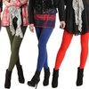 Women's Winter Fleece-Lined Leggings (6-Pack)