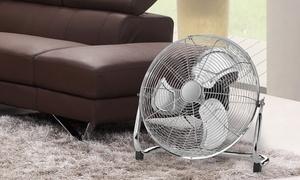 Clatronic-ventilator met retro-design en metalen XL-bladen