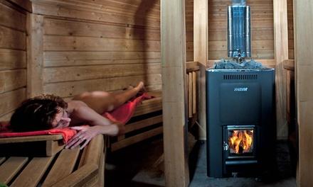 Dagentree voor Sauna 't Dalhuus in Wildervank bij Veendam