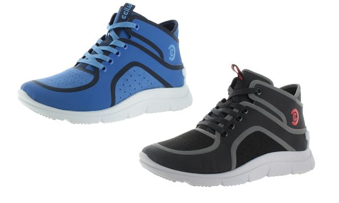 Ccilu Jokull Men's High-Top Fashion Sneakers