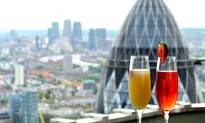 Vertigo 42: Panoramic Views, Champagne Cocktails and Sharing Platter for Two or Four at Vertigo 42 (Up to 47% Off)