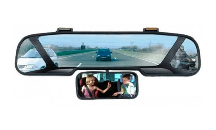 Up To 43 Off On Panoramic Rear View Mirror Groupon Goods