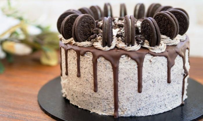 Torta americana da 1 2 kg o 2 4 kg makys cake groupon for Cucinare per 80 persone