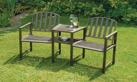 Doverdale Garden Bench and Table