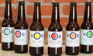 Kinderbear Cafe & Rag: One ($19.95) or Two Six-Packs of Kombucha ($39) at Kinderbear Cafe & Rag (Up to $54 Value)