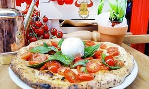 Fratelli La Bufala: Fratelli la Bufala - Menu del Boss per 2 persone con antipasto, pizza a scelta, birra e dolce. Valido in 32 sedi
