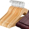 Solid Wooden Clothes Hanger (20- or 60-Pack)