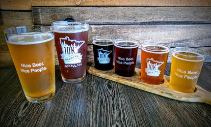 image for Beer Tasting Packages at 10K Brewing (Up to 46% Off). Five Options Available.