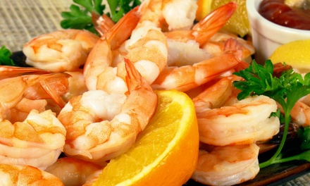 Fresh Seafood for Lunch or Dinner at The Fish Market Restaurant (Up to 43% Off)