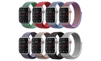 Waloo Breathable Nylon Sports Band for Apple Watch Series 1–5