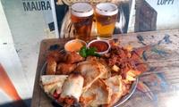 Desde $199 por picada mexicana + cerveza para dos o cuatro en Crónico Bar