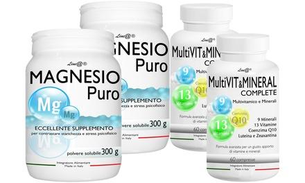 Magnesio e Multivitaminico Line@