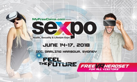 SEXPO: One Day Entry from $10, 14 17 June, International Convention Centre, Darling Harbour (Dont Pay $28*)