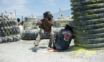 image for Gun, Mask, and All-Day Admission for Two, Four, Six, or Twelve from Paintball Tickets (Up to 88% Off)